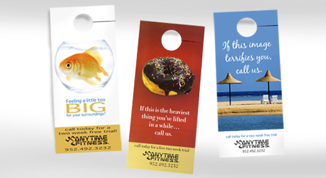 door knob advertising hangers photo - 16