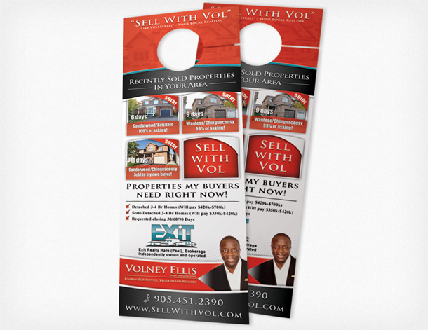 door knob advertising hangers photo - 20