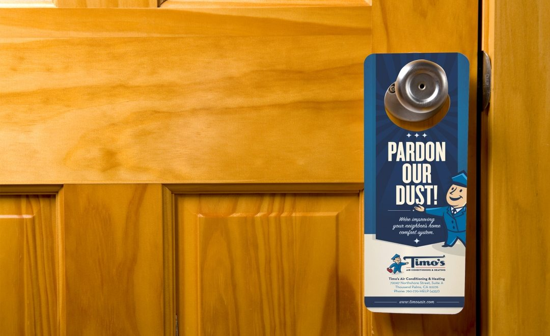 door knob advertising hangers photo - 8