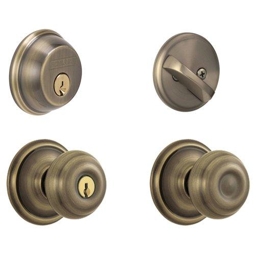door knob and deadbolt set photo - 8
