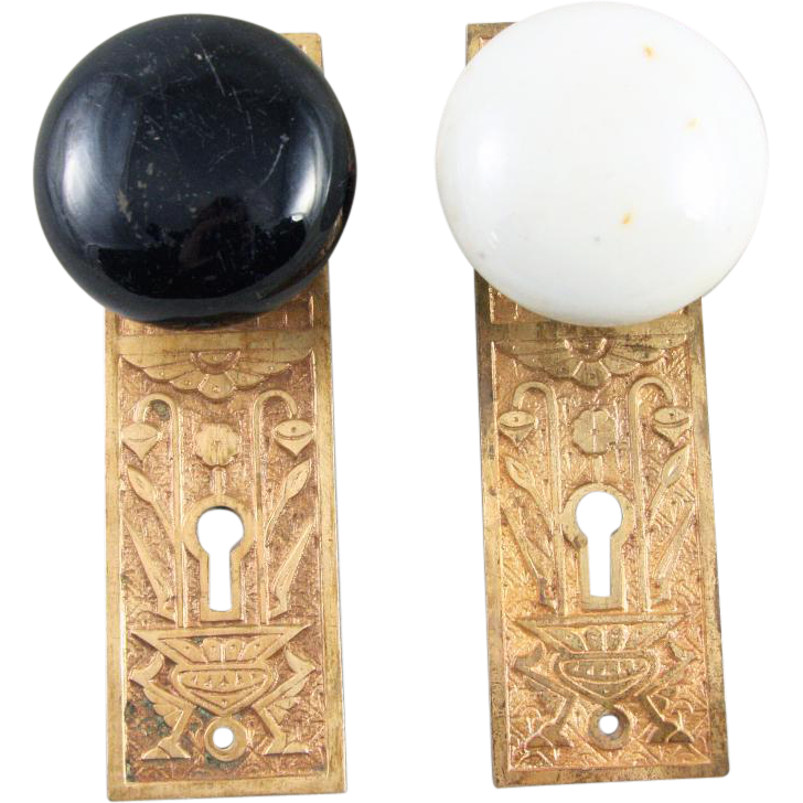 door knob back plates photo - 9