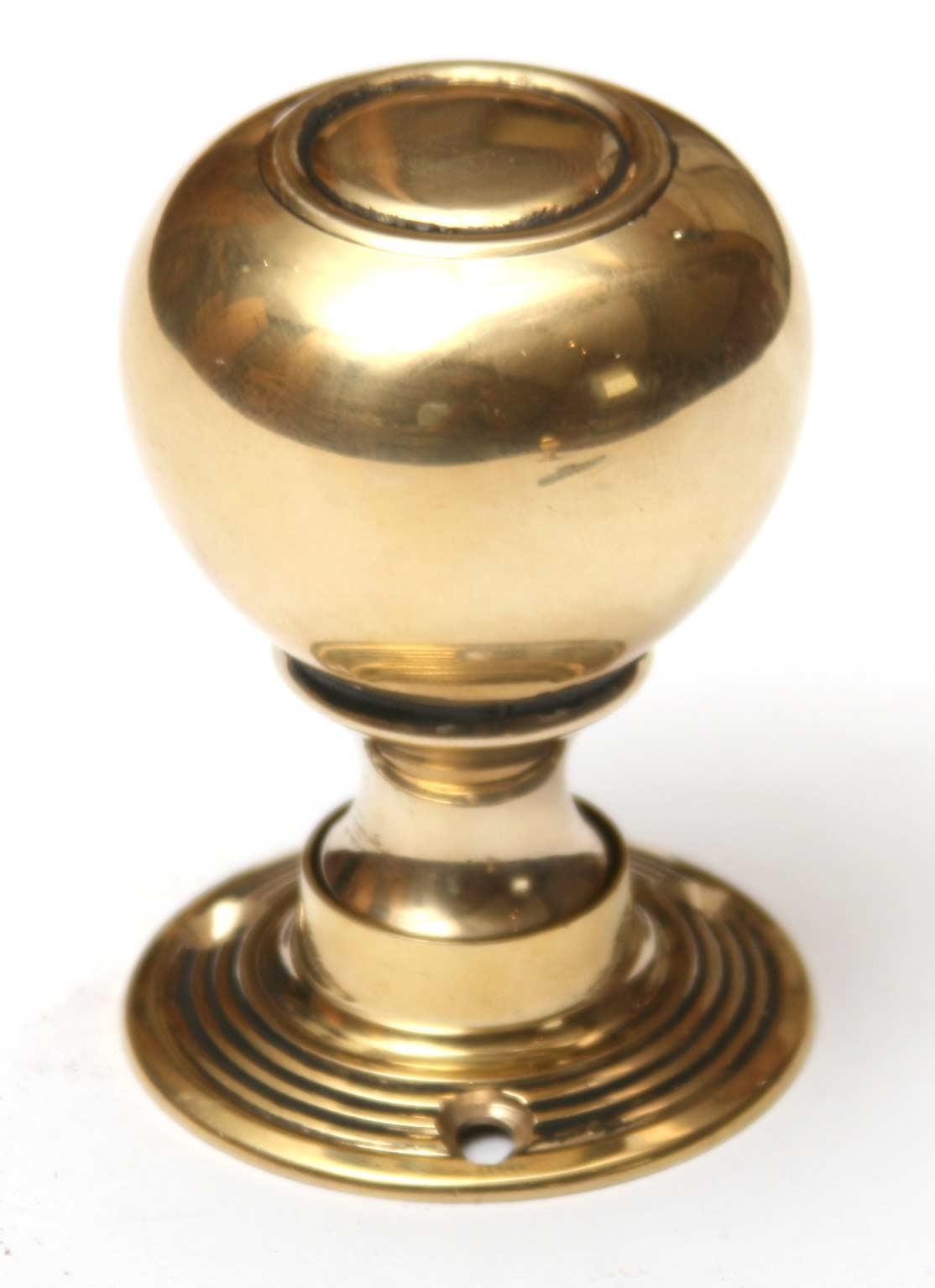 door knob brass photo - 11