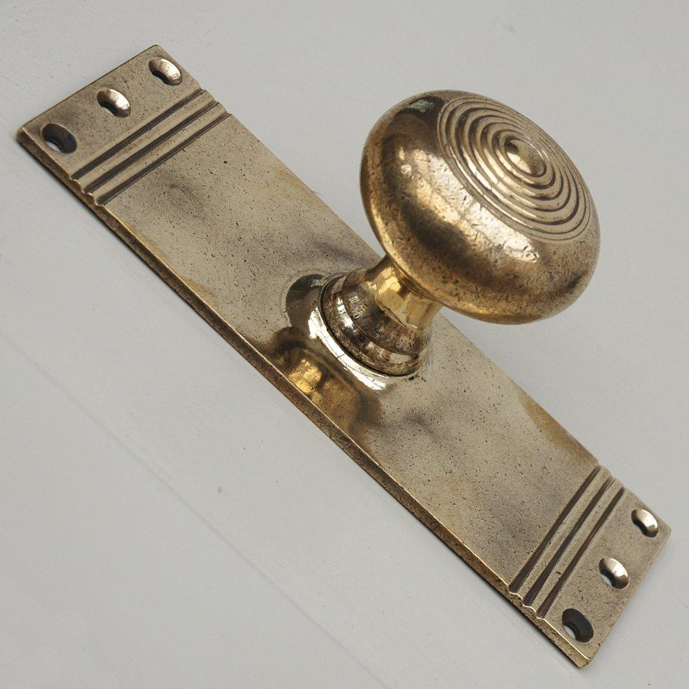door knob brass photo - 16