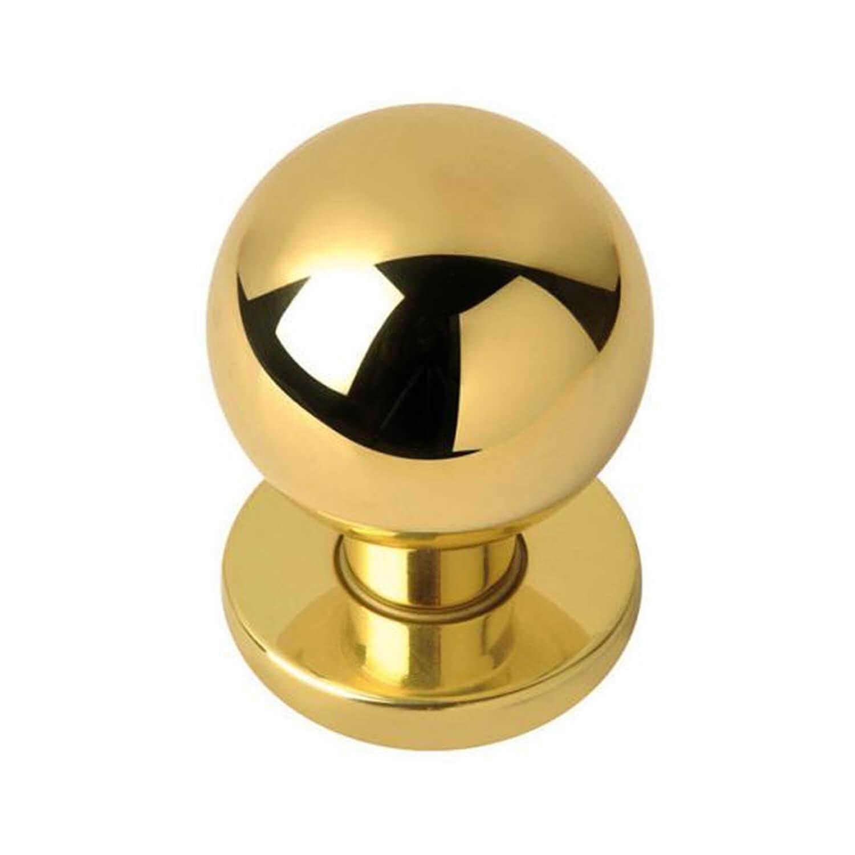 door knob brass photo - 2