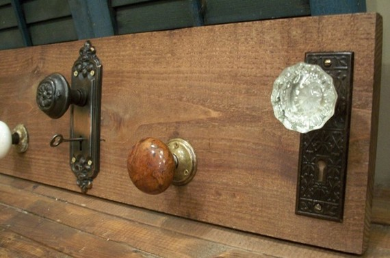 door knob coat rack photo - 13