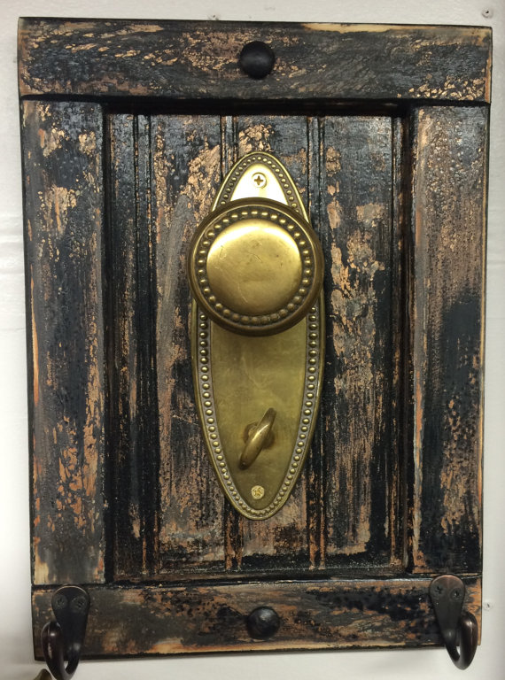 door knob coat rack photo - 14