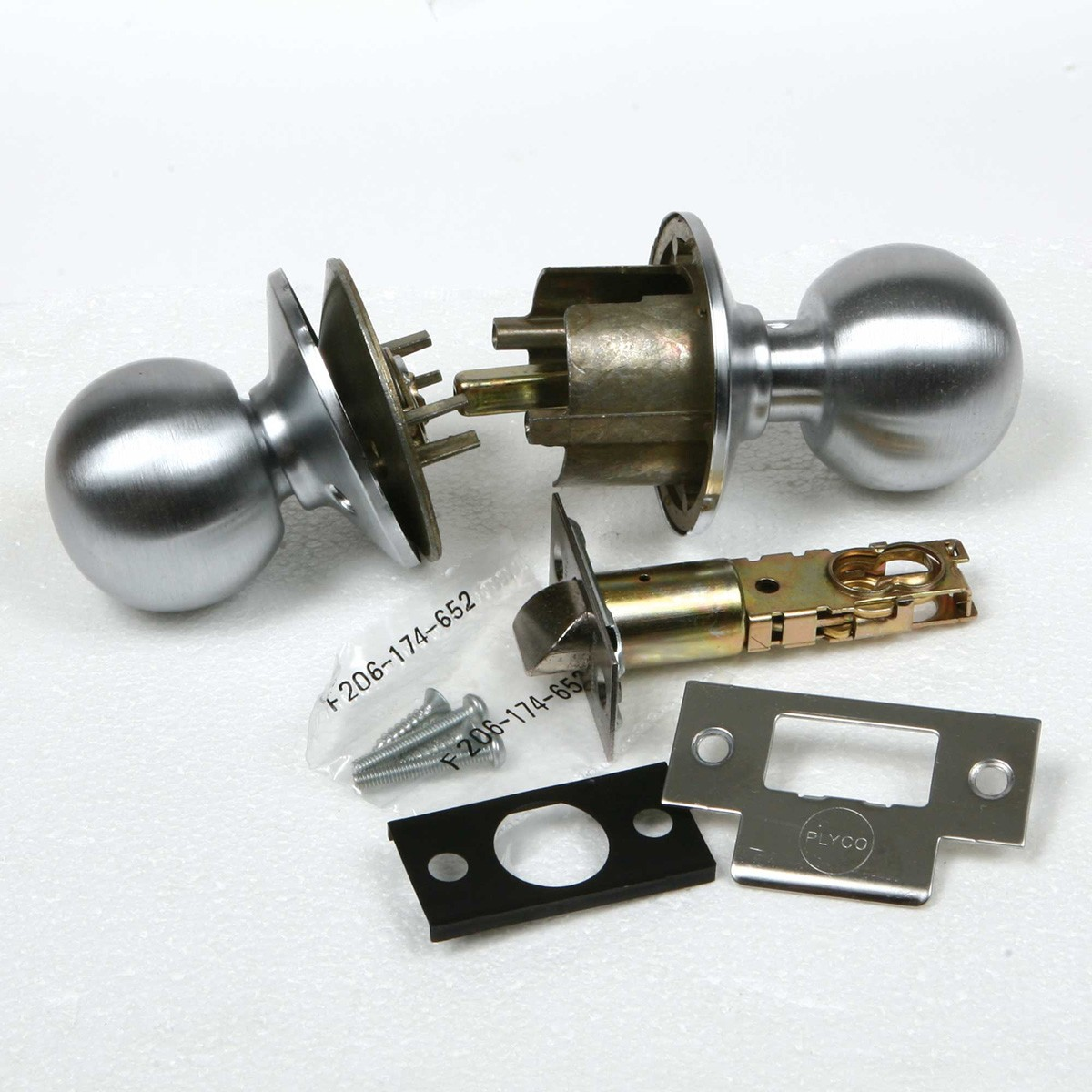 door knob components photo - 2