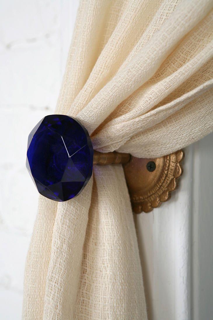 door knob curtain tie back photo - 6