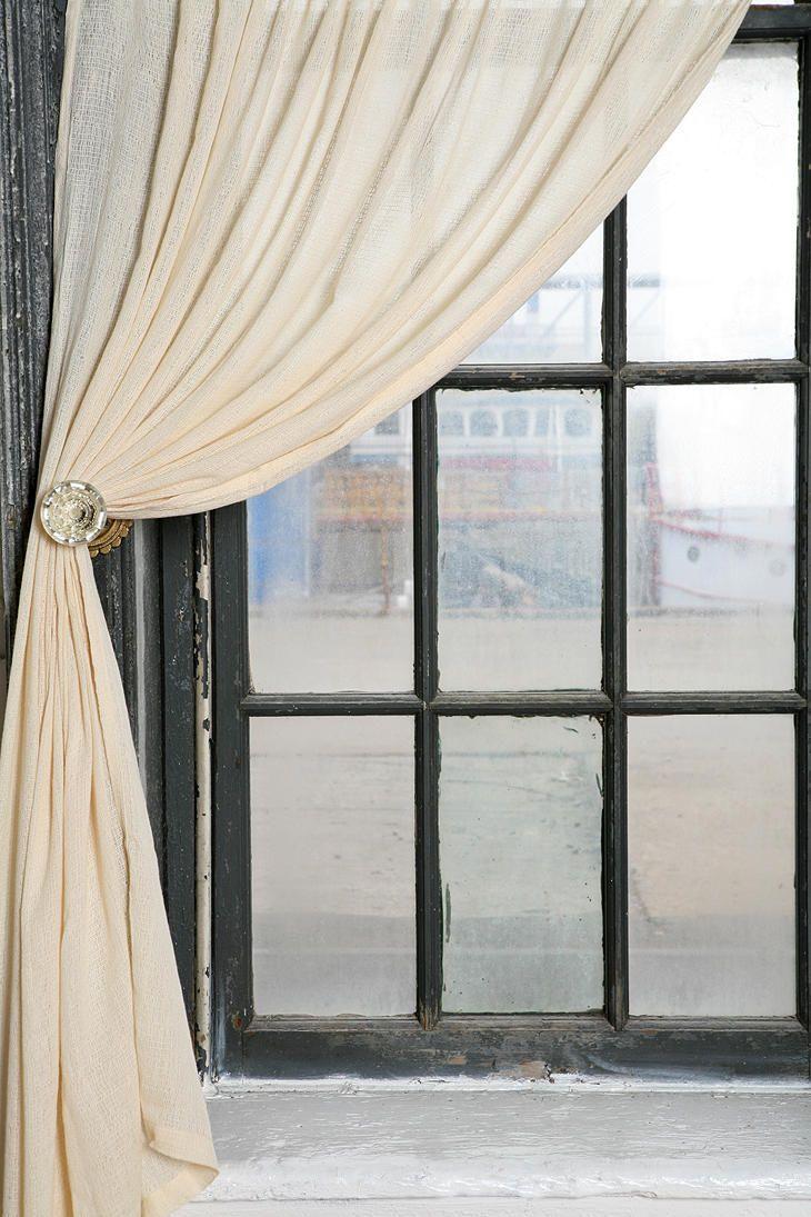 door knob curtain tie backs photo - 13