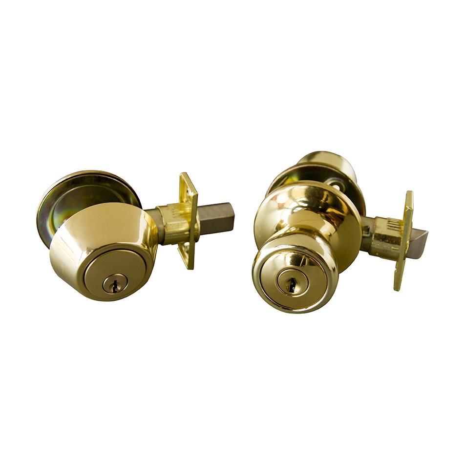 door knob deadbolt combo photo - 14