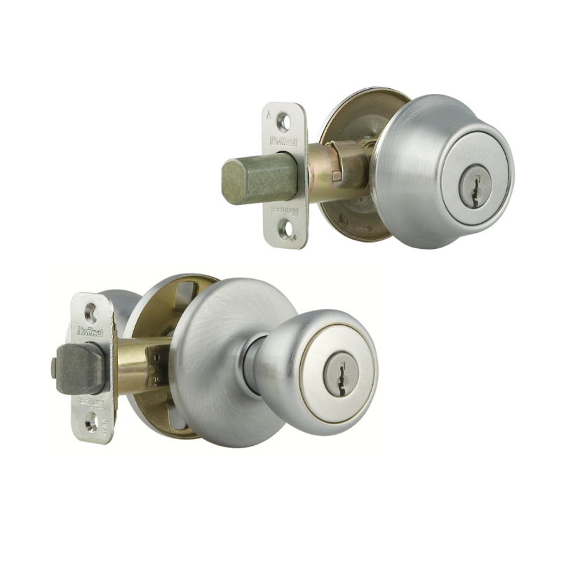 door knob deadbolt combo photo - 2