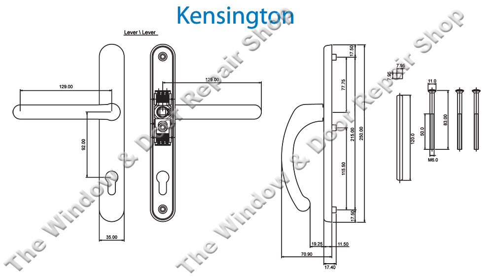 door knob diagram photo - 20