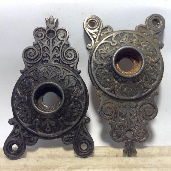 door knob escutcheon photo - 19