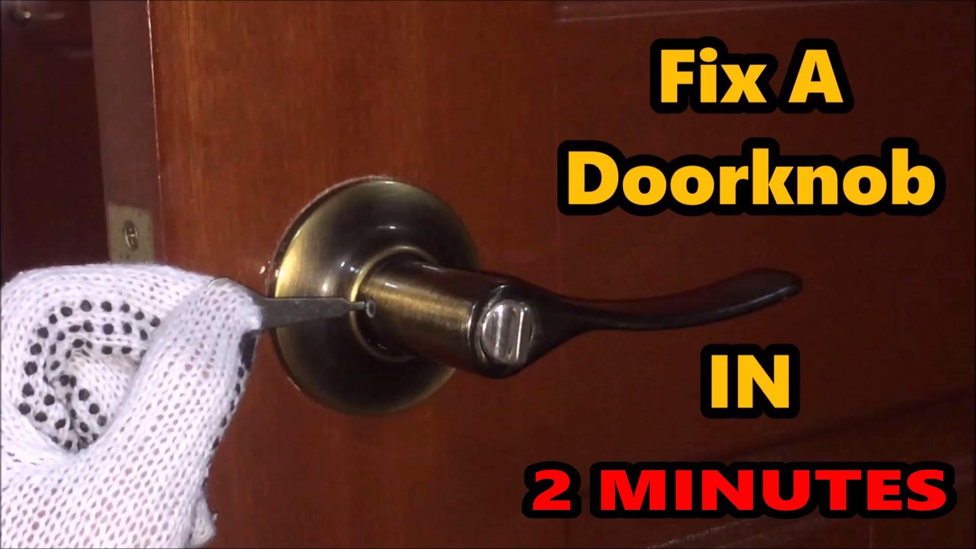 door knob fix photo - 18