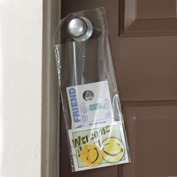 door knob hanger bags photo - 16