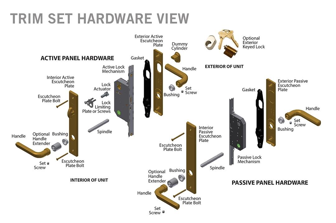 door knob hardware parts photo - 13