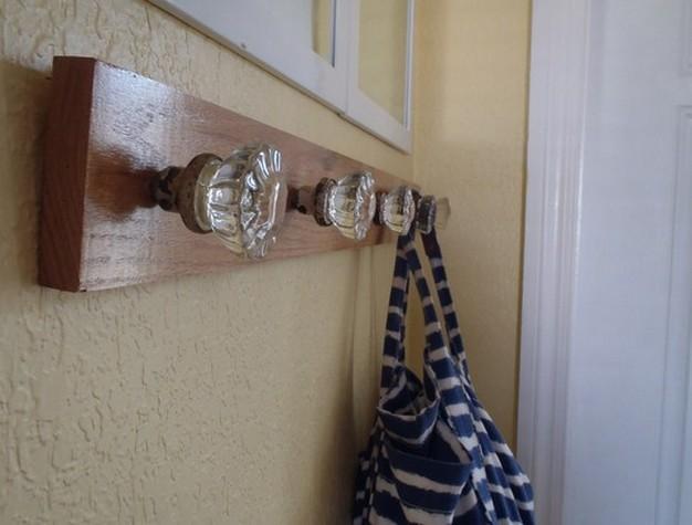 Charming Door Knob Hooks Photo   7
