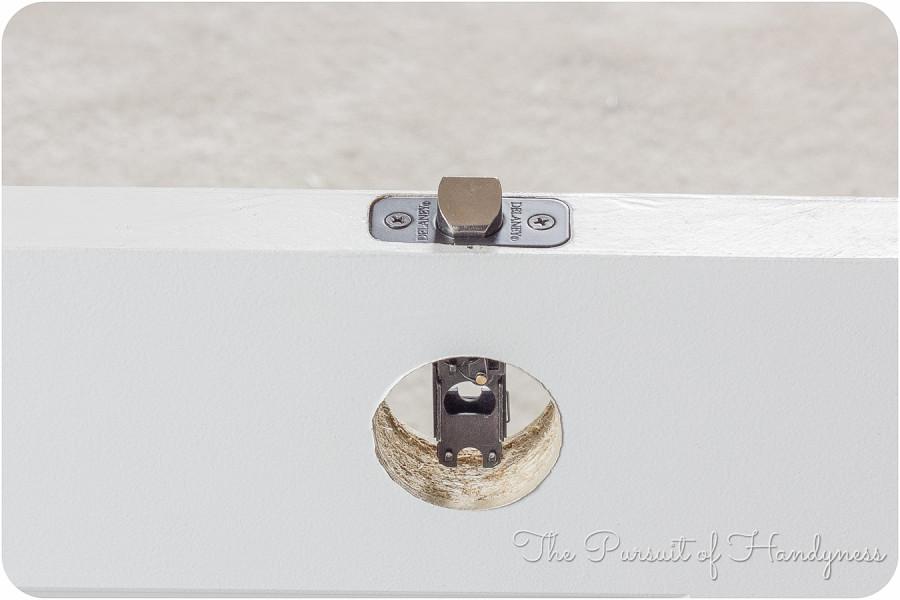 door knob installation photo - 5