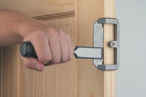door knob installation tools photo - 10