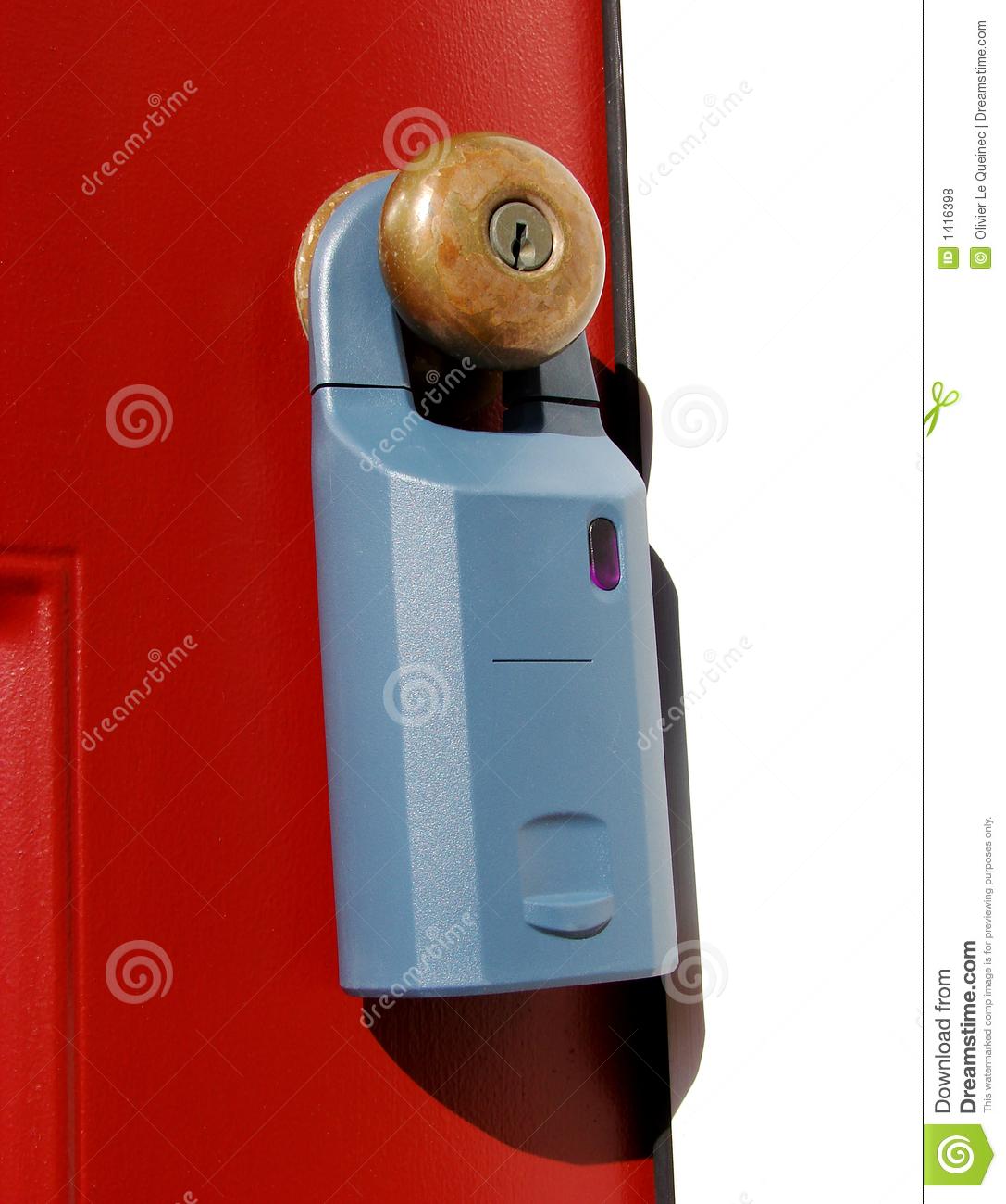door knob lock box photo - 10