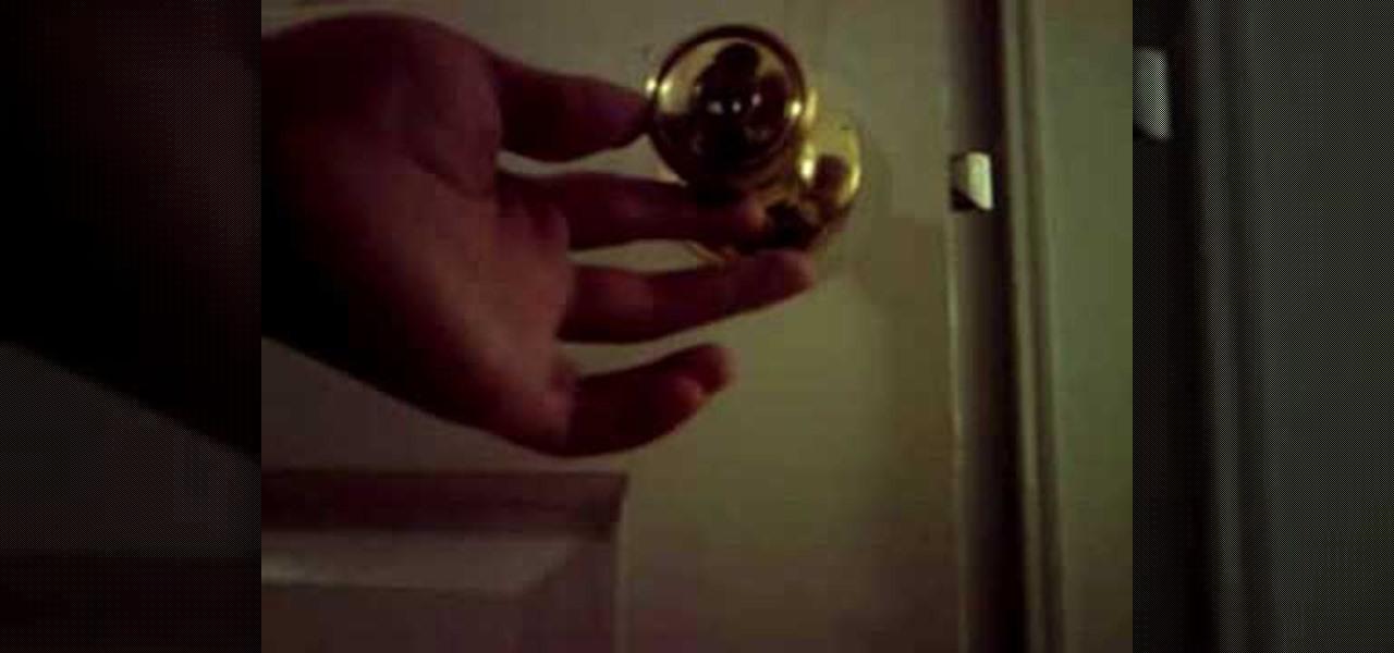 door knob lock picking photo - 6