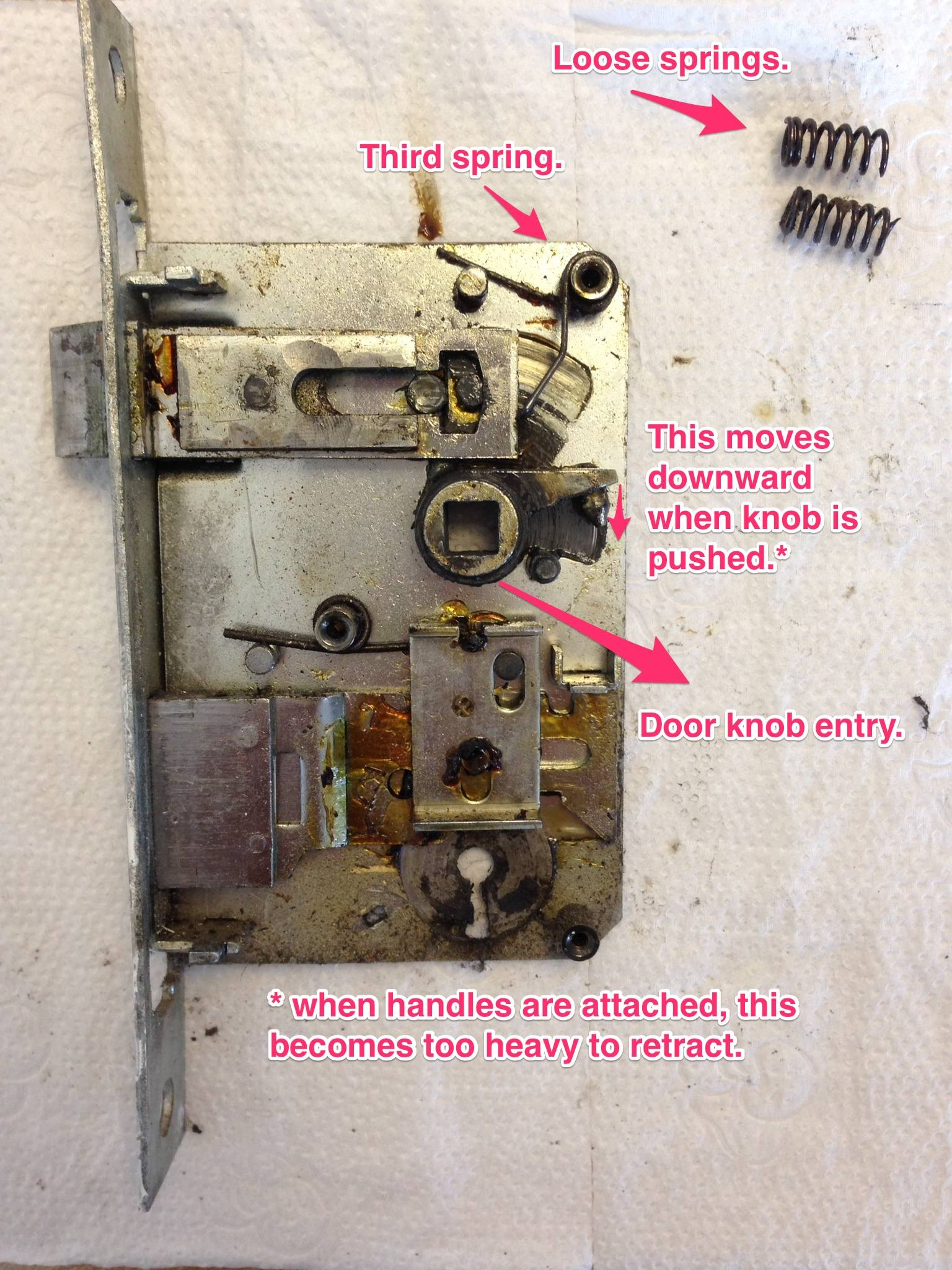 door knob lock repair photo - 2