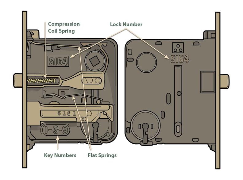 door knob replacement parts photo - 11