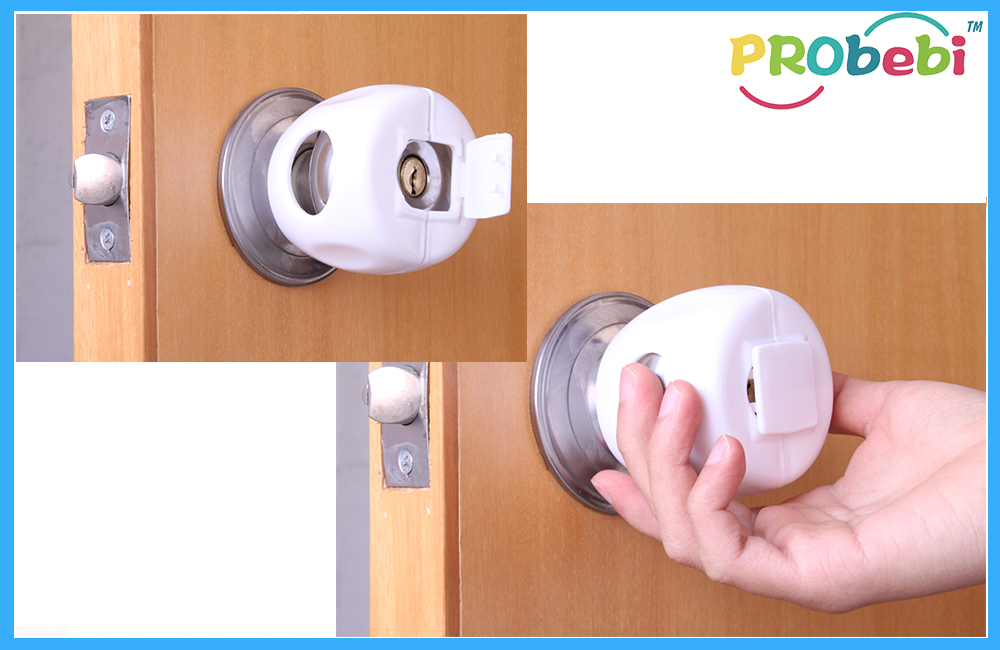 door knob safety covers photo - 11