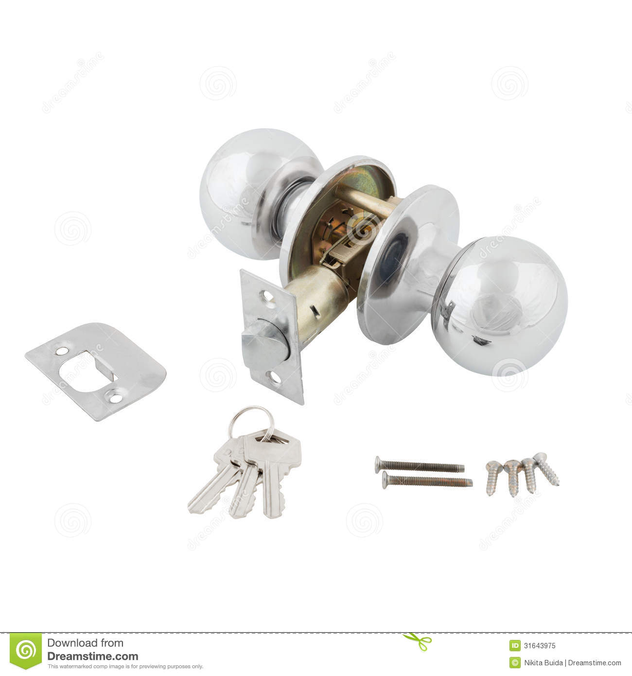 door knob screws photo - 15