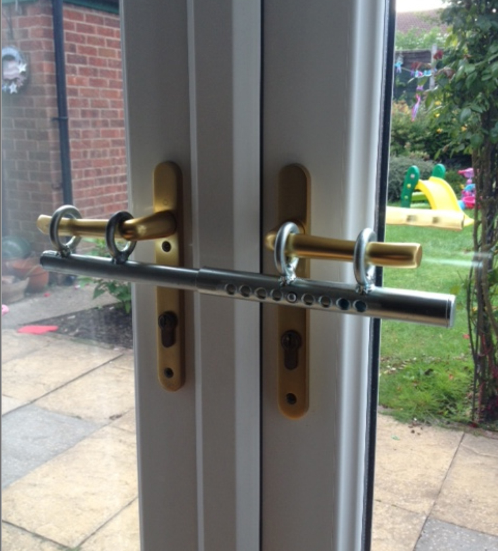 door knob security bar photo - 7