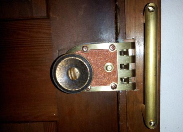 door knob security devices photo - 10