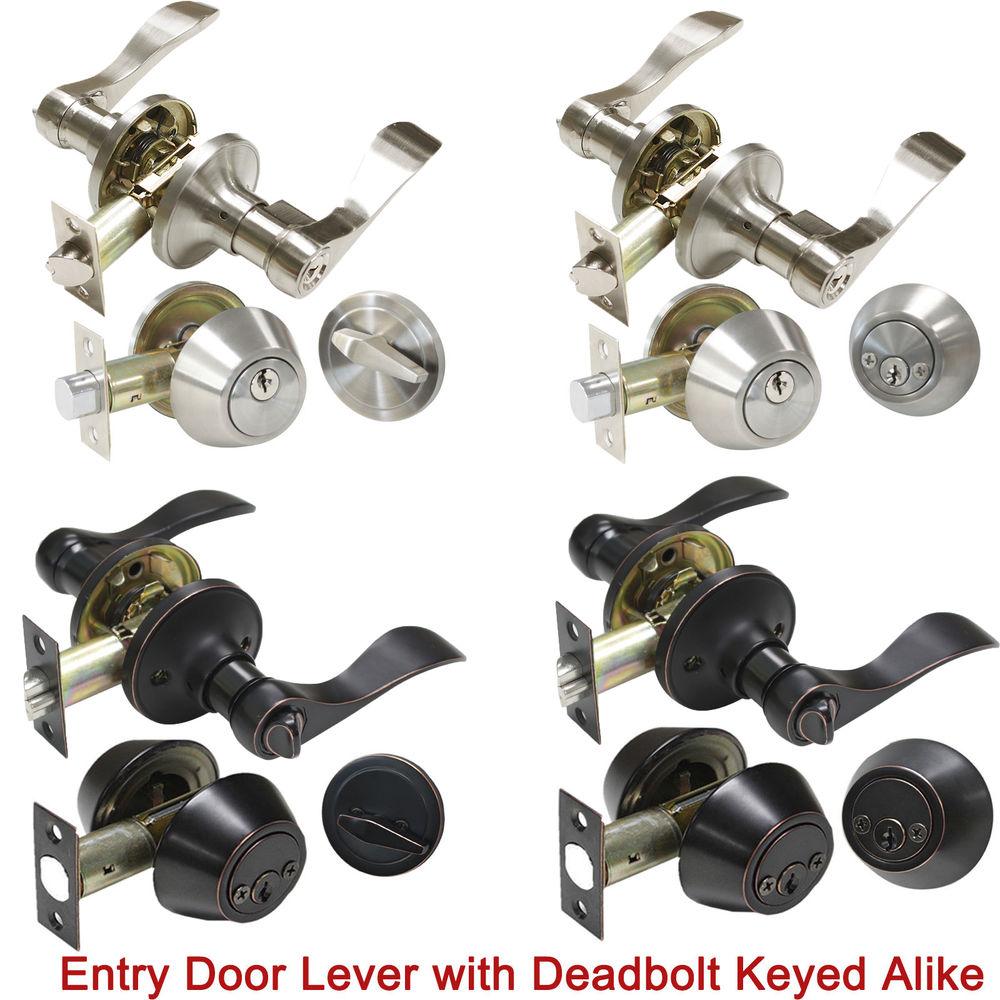 door knob sets keyed alike photo - 20