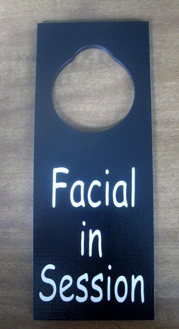 door knob sign photo - 17