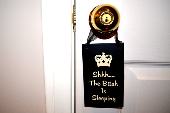 door knob signs photo - 20
