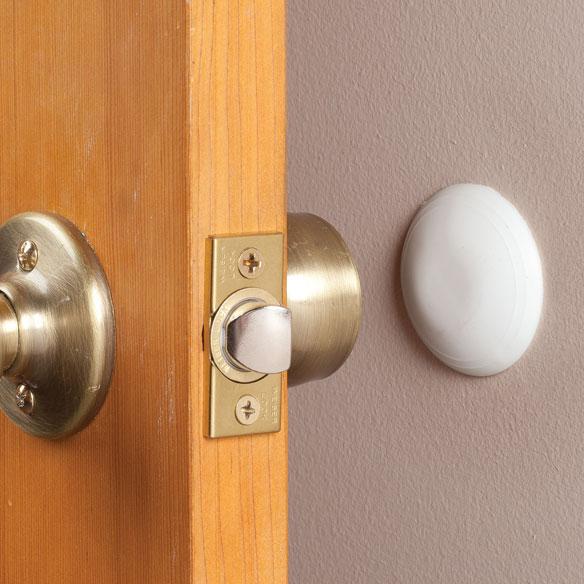 door knob wall protector photo - 1