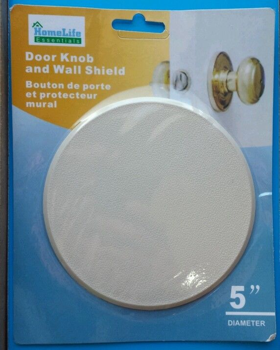 door knob wall protector photo - 12