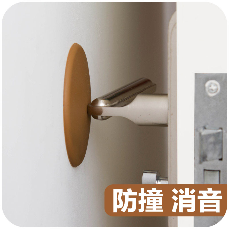 door knob wall protector photo - 16