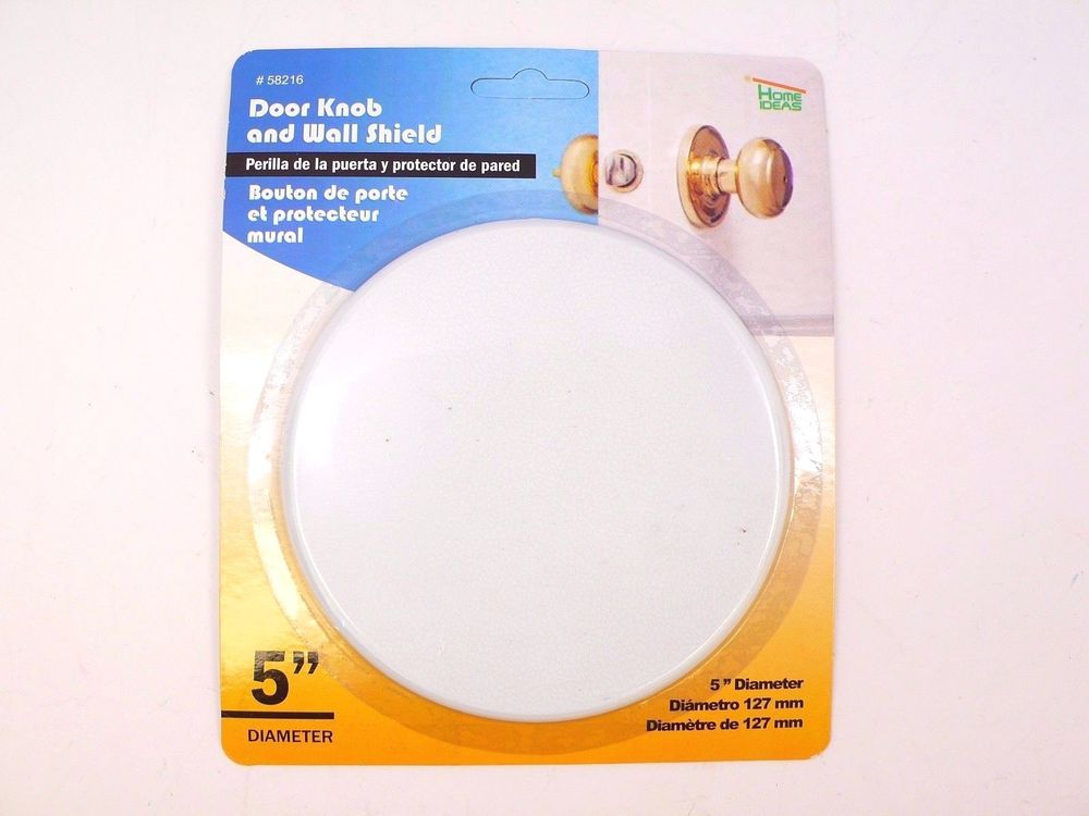 door knob wall protector photo - 2