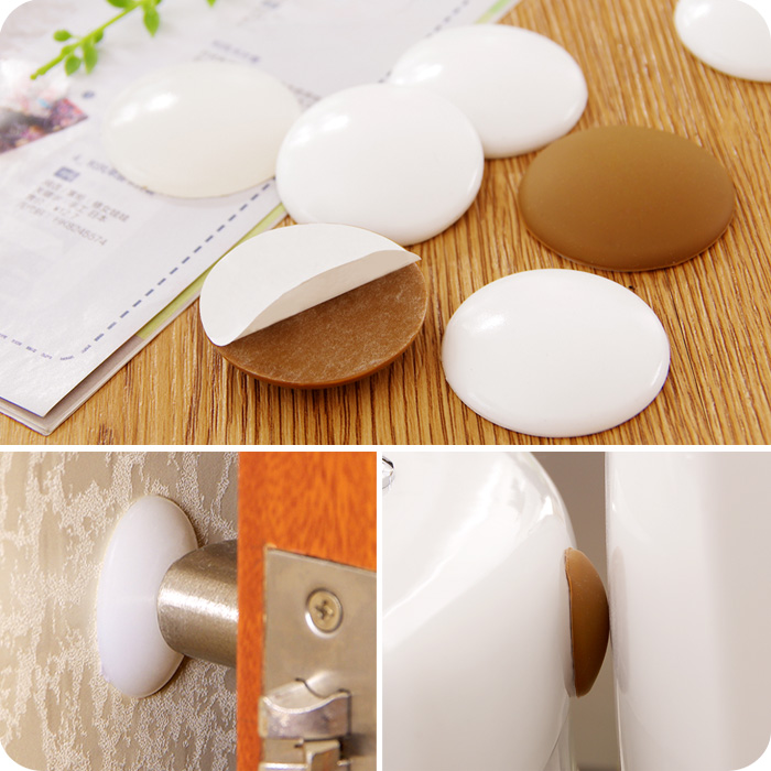 door knob wall protector photo - 8