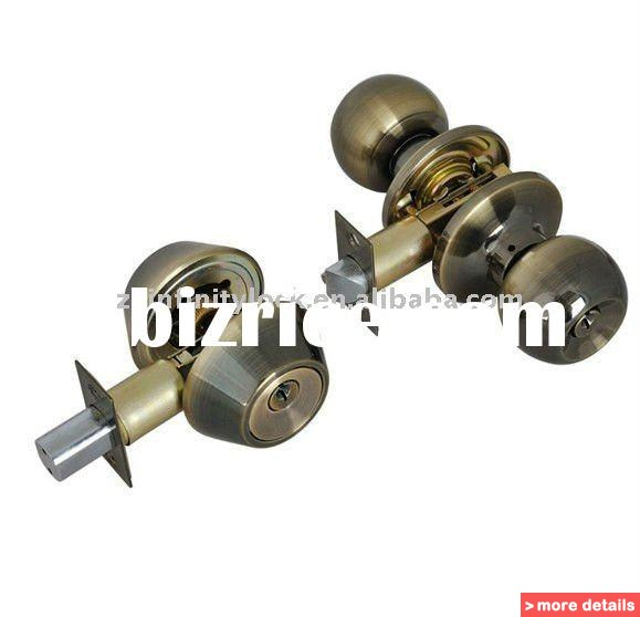 door knob with combination lock photo - 9