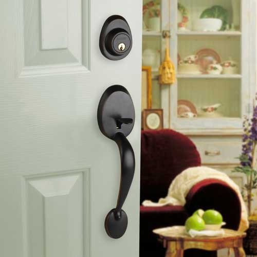 door knob with deadbolt photo - 7