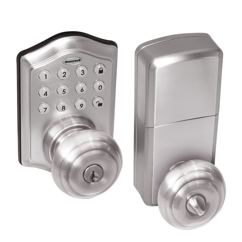 door knob with deadbolt built in photo - 15