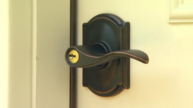 door knob with deadbolt built in photo - 18