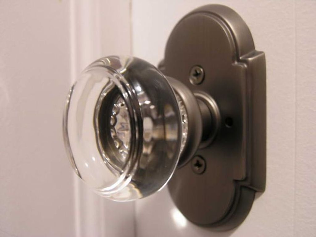 door knob with deadbolt built in photo - 4
