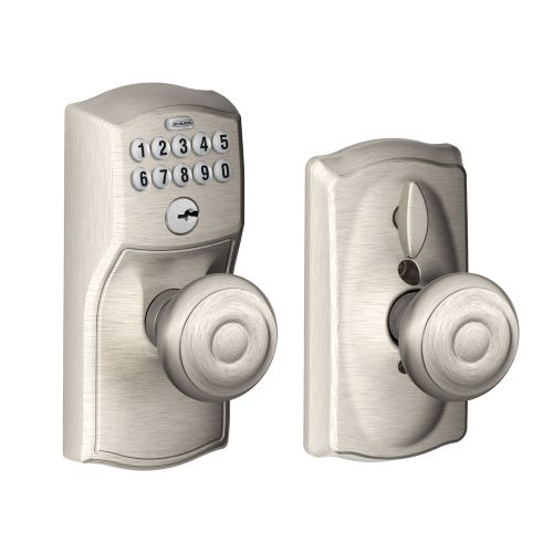 door knob with keypad photo - 15