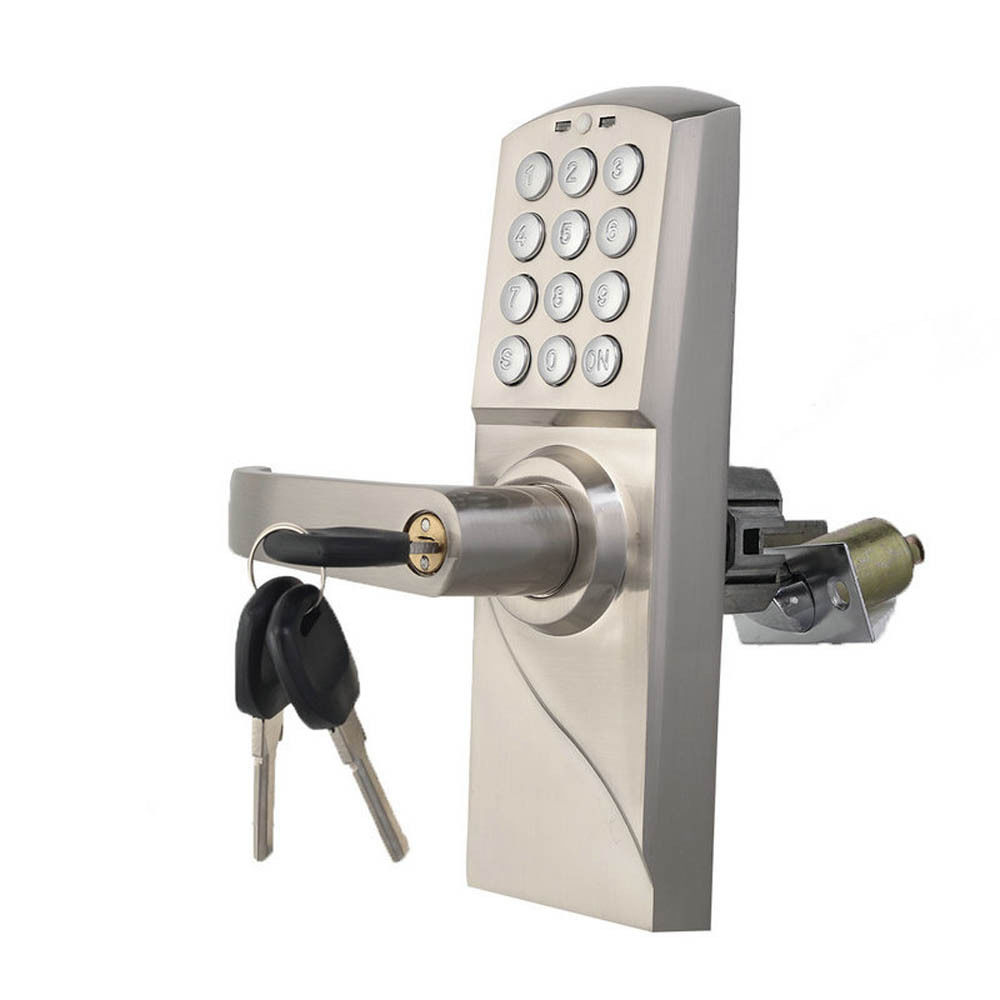 door knob with keypad photo - 5
