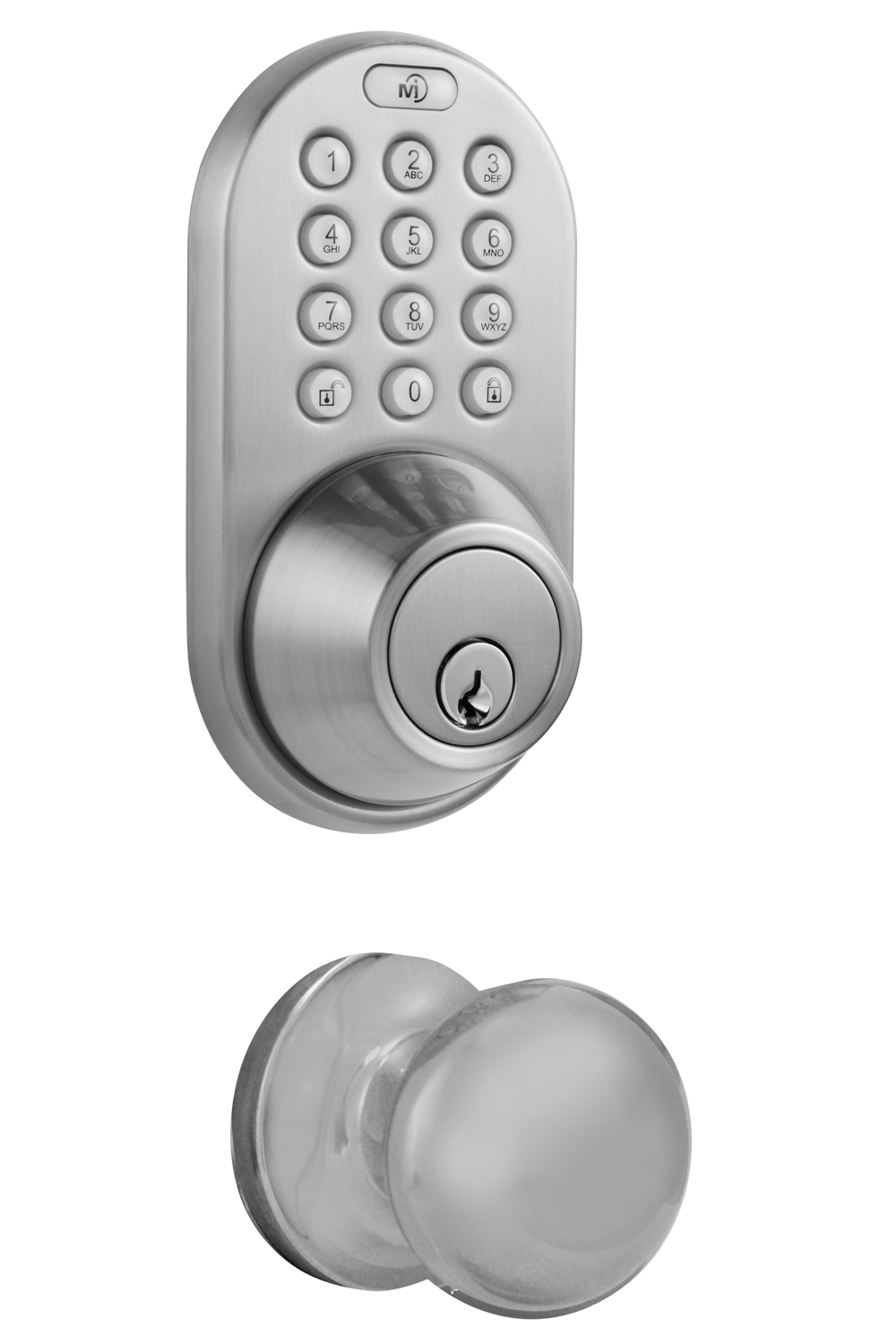 door knob with keypad photo - 6