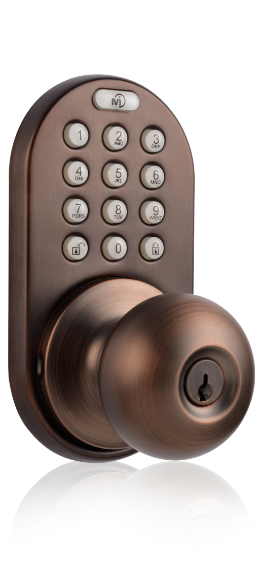 door knob with keypad photo - 8