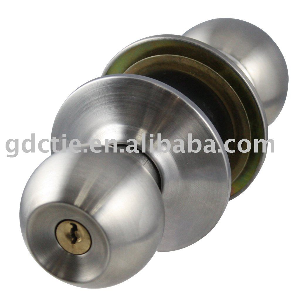 door knob with lock photo - 12