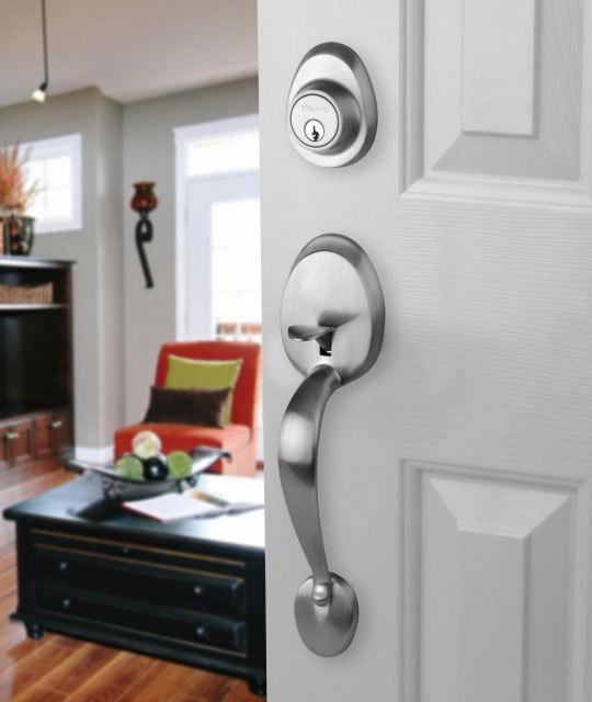 door knob with lock photo - 18